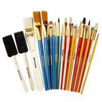 Artlicious - 25 All Purpose Paint Brush Value Pack
