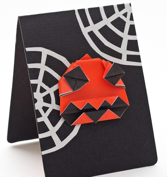 Crazy Jack Halloween Card