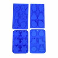 4PC Silicone Halloween Mold Set
